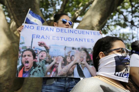 crisis politica y muertos en nicaragua 7