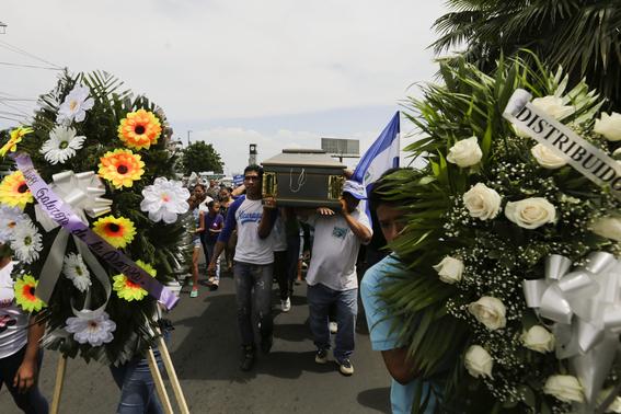 crisis politica y muertos en nicaragua 8