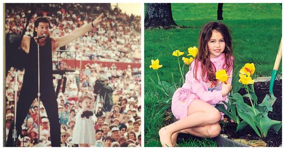fotografias de myley cyrus antes y despues de su liberacion sexual 3