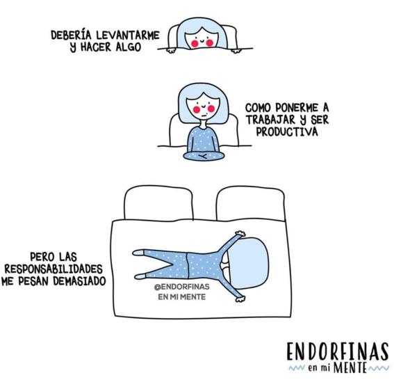ilustraciones de endorfinas en mi mente 25