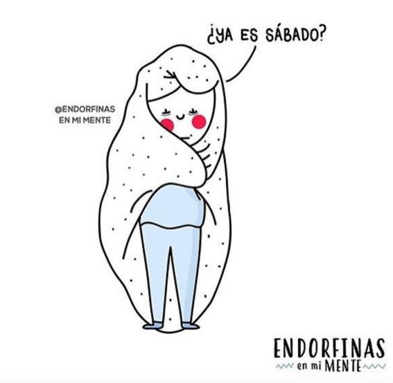 ilustraciones de endorfinas en mi mente 28
