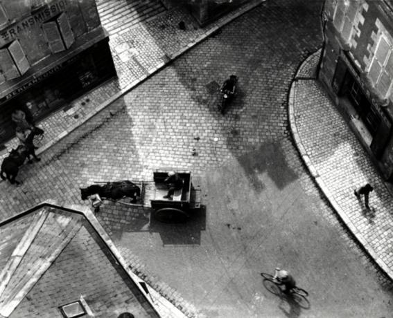 fotografias de andre kertesz sobre momentos de las ciudades 9