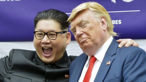 donald trump dice estar muy contento por relacion con corea del norte 3