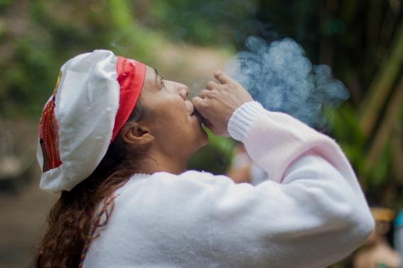 fotografias de un ritual de santeria en venezuela 1