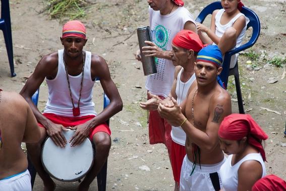 fotografias de un ritual de santeria en venezuela 5