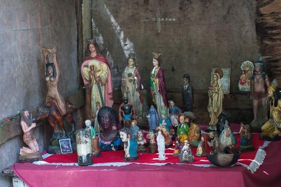fotografias de un ritual de santeria en venezuela 7