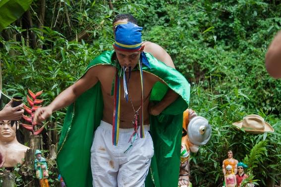 fotografias de un ritual de santeria en venezuela 11