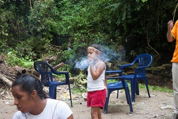 fotografias de un ritual de santeria en venezuela 14