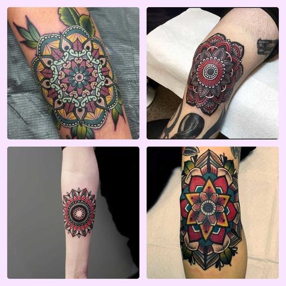 el significado de los mandalas y disenos de tatuajes 1