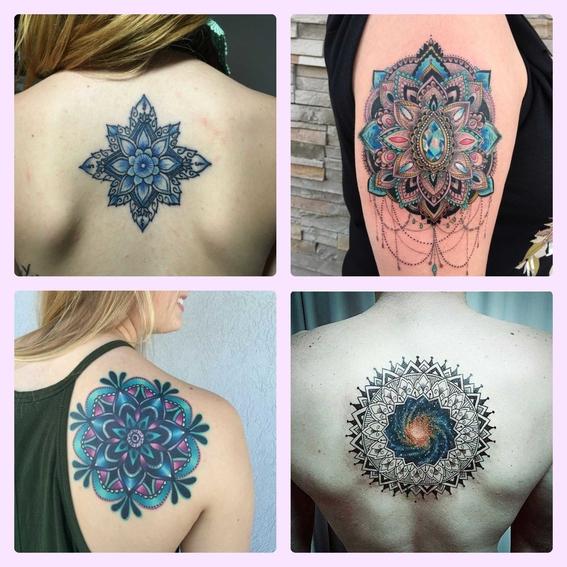 el significado de los mandalas y disenos de tatuajes 3