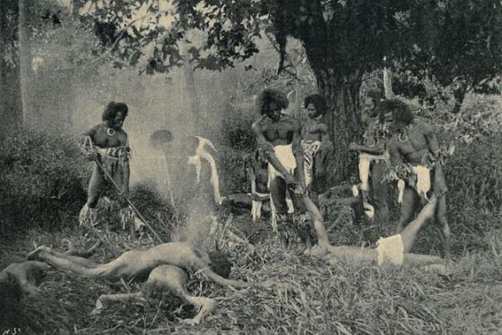 lugares en el mundo donde se practica el canibalismo 12