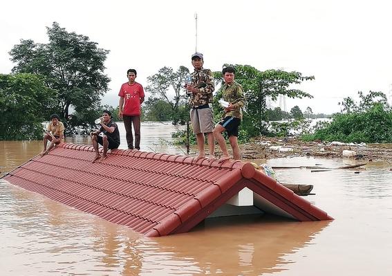 colapso de presa en laos deja cientos de desaparecidos 1