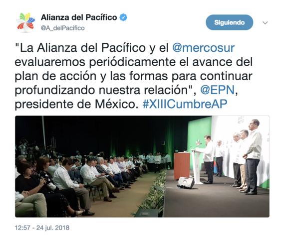 comienza alianza del pacifico y mercosur en puerto vallarta 1