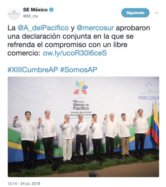 comienza alianza del pacifico y mercosur en puerto vallarta 2