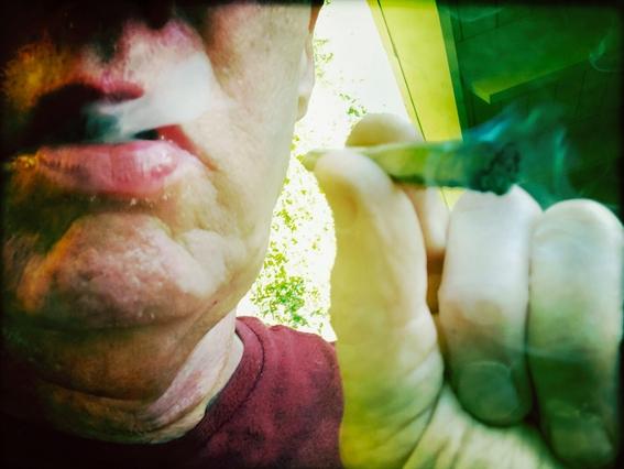 fotografias de mark richards sobre su tratamiento contra el cancer 3