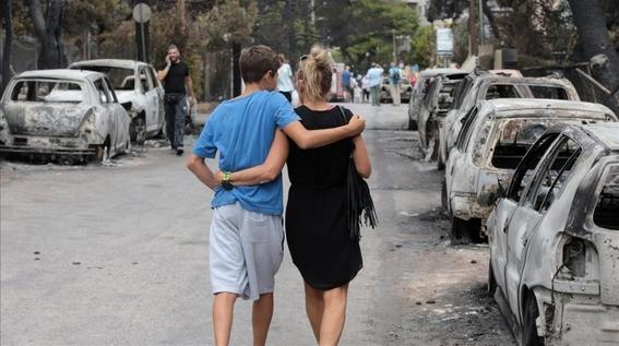 pueblo mati en grecia en peligro de desaparecer por incendios 1