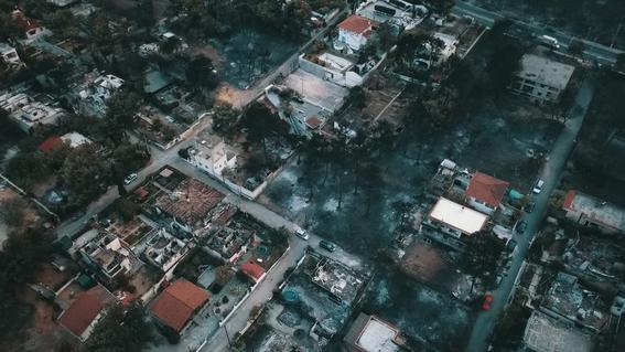 pueblo mati en grecia en peligro de desaparecer por incendios 2