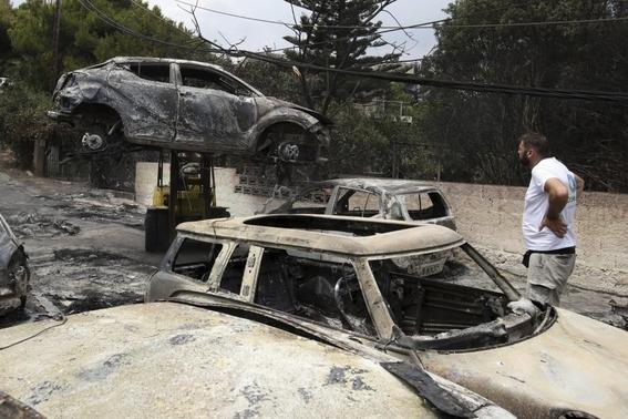 pueblo mati en grecia en peligro de desaparecer por incendios 3