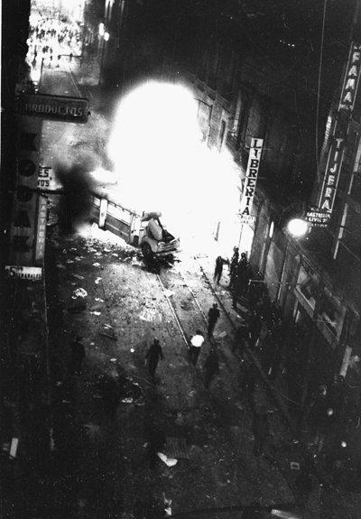 29 de julio 68 se registran mas choques violentos entre estudiantes y policia 2
