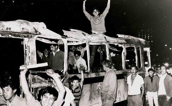 29 de julio 68 se registran mas choques violentos entre estudiantes y policia 3