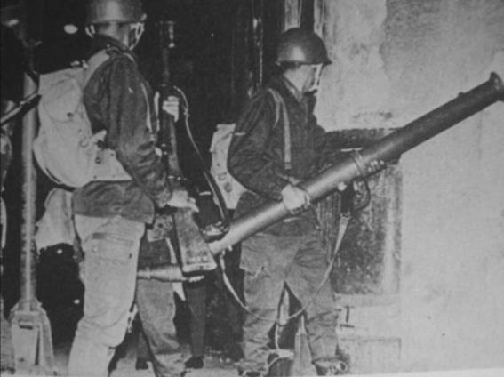 29 de julio 68 se registran mas choques violentos entre estudiantes y policia 4
