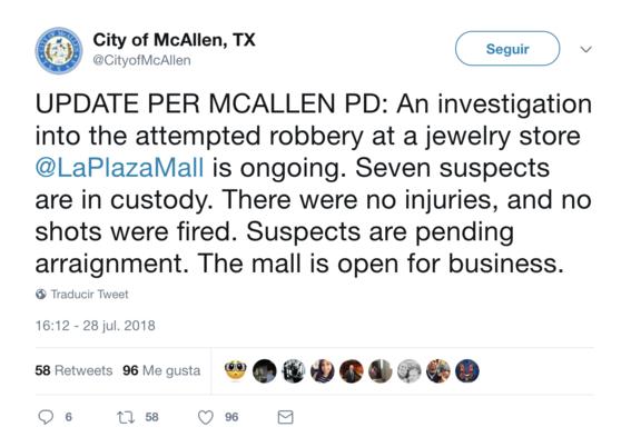 intento de robo desata panico en la plaza mall de mcallen 1