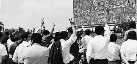 30 de julio 68 izan bandera a media asta por luto en unam 2