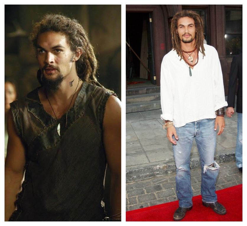 Fotografías del antes y después de la transformación de Jason Momoa 5