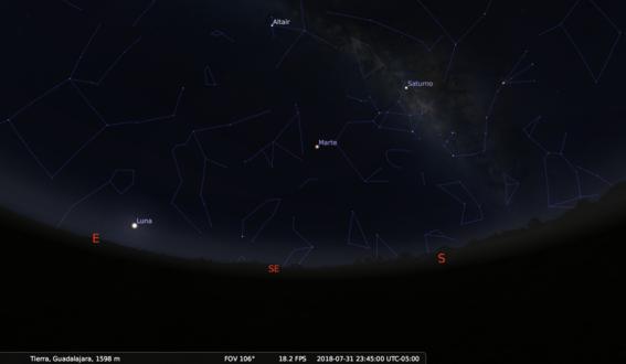 como ver marte desde la tierra 6