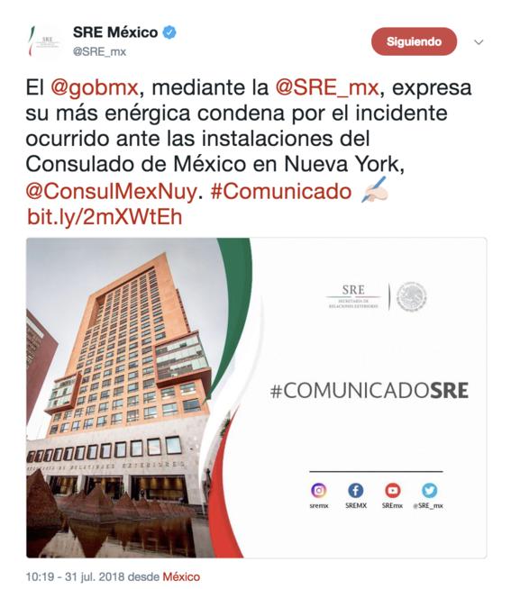 gobierno de mexico denuncia actos de racismo en consulado de nueva york 1