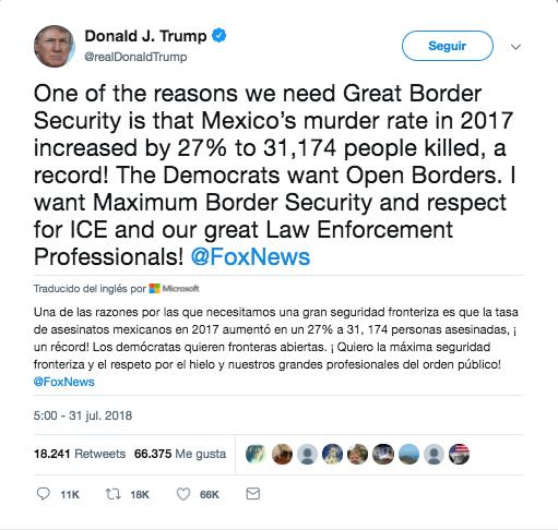 trump quiere maxima seguridad en frontera por homicidios en mexico 1