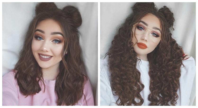Peinados para cabello chino que puedes intentar moda jpg 836x455 Peinados  para pelo chino en chongo a929de0aad90
