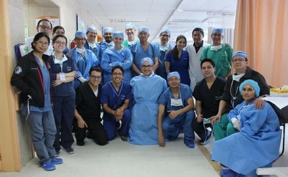 realizan con exito el primer trasplante bipulmonar en ecuador 1
