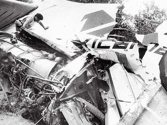 cuales son los peores accidentes aereos en mexico 4