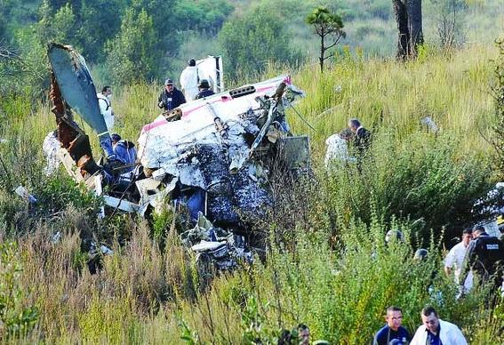 cuales son los peores accidentes aereos en mexico 7