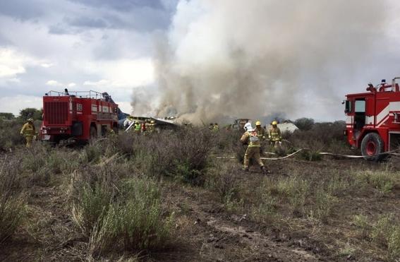 cuales son los peores accidentes aereos en mexico 8