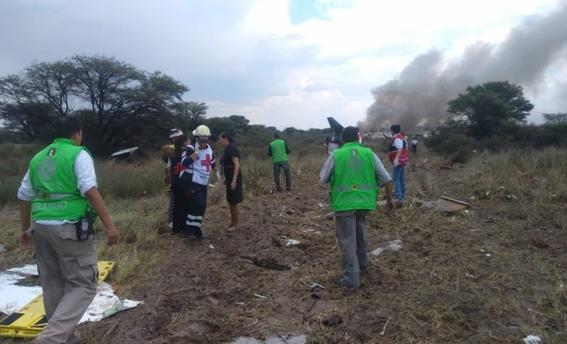 cuales son los peores accidentes aereos en mexico 1