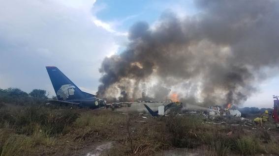 testimonio del accidente aereo de durango 1