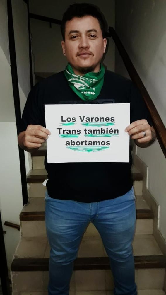 hombres trans exigen legalizacion del aborto en argentina 3