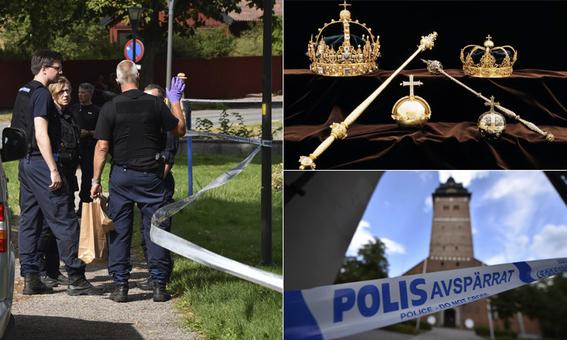 roban en suecia dos coronas y joyas de 400 anos de antiguedad 1