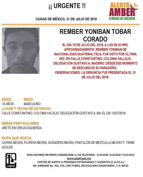 desaparecen tres menores centroamericanos en la cdmx 2