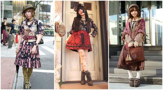 estilos de ropa de chicas japonesas 2