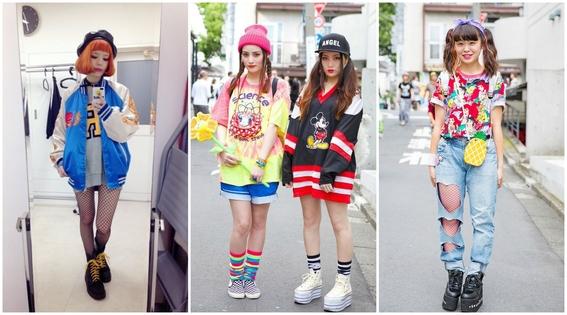 estilos de ropa de chicas japonesas 4