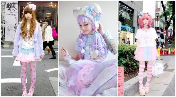 estilos de ropa de chicas japonesas 5