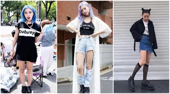 estilos de ropa de chicas japonesas 6