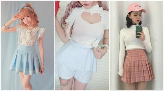 estilos de ropa de chicas japonesas 7