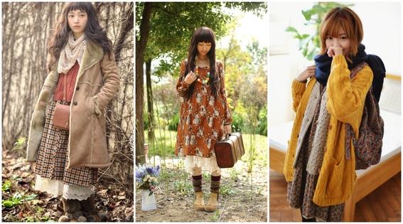 estilos de ropa de chicas japonesas 8