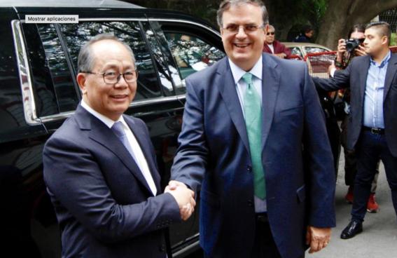 amlo se reune con embajador de china 2