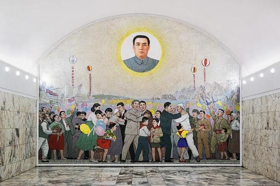 fotografias del metro de pyongyang corea del norte 10