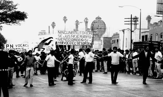 5 de agosto 68 marcha de estudiantes desde zacatenco hasta santo tomas 1
